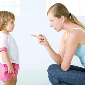 những sai lầm khi dạy con