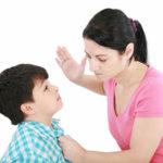 hậu quả của việc dạy con bằng đòn roi