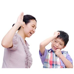 con ảnh hưởng từ cha mẹ như thế nào