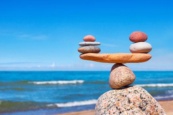 sống hợp lý để cân bằng